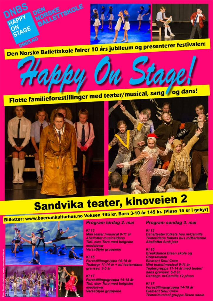 HappyOnStage2015plakat