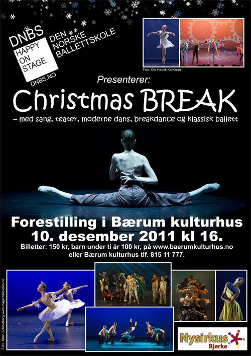 christmasbreak plakat des 2011