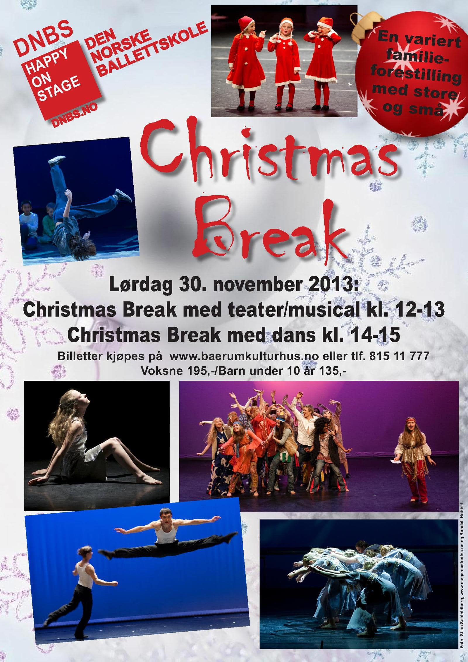 plakat christmasbreakjul2013 bærum kulturhus_1