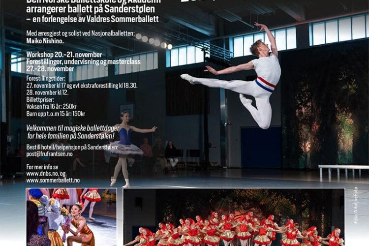 Ballett på Sanderstølen november 2021